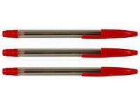 Guľ.pero Stick červené