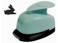 Děrovačka dekorační 16mm blister králík DP