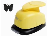 Děrovačka dekorační 37mm blister motýl 4 DP