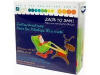 Skládačka 3D Santovy sáně DP