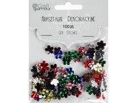 Krystaly dekorační květy DP