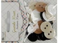 Knoflíky dekorační Latte mousse DP