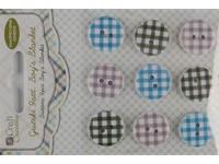 Knoflíky dekorační samolepicí Boy´s blanket DP
