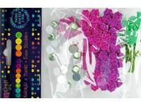 Samolepky dekorační a krystalky Tropic DP