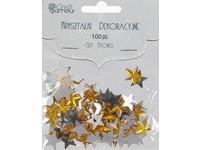 Kryštály dekoračné hviezdy DP