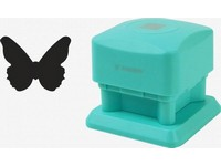 Děrovačka dekorační magnetická 25mm motýl