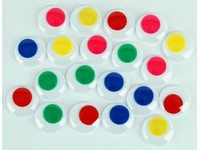 Oči dekorační 20 mm barevné DP
