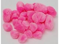 Brmbolce dekoračné mix ružové DP