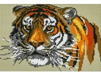 Mozaika diamantová 05 tygr