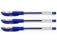 Guličkové pero gel GR-101 modré
