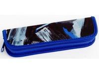 Penál HS1 Junior 6 šedo-modrý