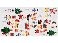 Samolepka dekorační plastická Vánoce DP