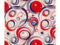 Pytlík na přezůvky Pattern 2 červený