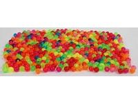 Korálky 6 mm průhledné