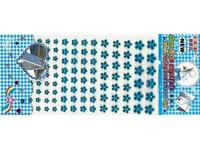 Kytičky samolepicí 01 modré