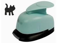 Děrovačka dekorační 16mm blister kočka DP