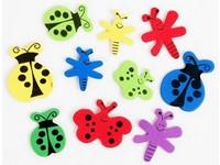 Samolepka pěnová 12 motýli a vážky