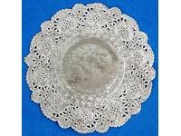 Krajka kulatá 11 cm stříbrná DP