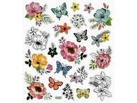 Samolepky DPNK-045 kytky a motýli DP