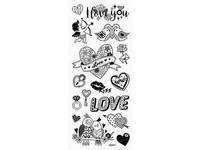 Samolepky DPNK-054 láska DP