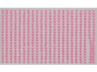 Perly samolepiace 4mm Pink DP