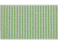Perly samolepiace 4mm Green DP