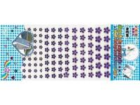 Kytičky samolepicí 02 fialové