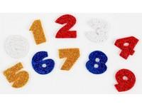 Samolepka pěnová 17 číslice