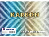 Papier dekoračný Karbon