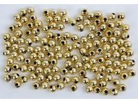 Korálky dekorační 6mm zlaté