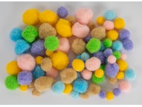 Brmbolce akrylové mix Pastel