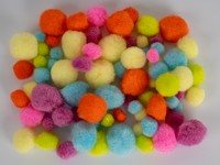 Brmbolce akrylové mix Neon