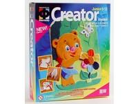 Sada Creator 02 medvěd a kytka