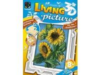 Sada kreativní Living pictures A4 slunečnice