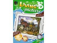 Sada kreativní Living pictures A4 dinosuaři