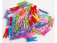 Kolíčky dekorační Color malé