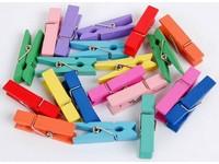 Kolíčky dekorační Color velké