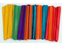 Dřívka dekorační Color velká