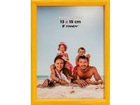 Fotorámeček Colori 15x21 2 žlutý