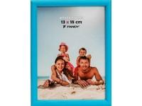Fotorámeček Colori 15x21 7 modrý