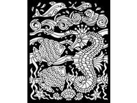 Omalovánka semišová S Ocean