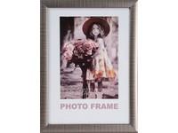 Fotorámeček Notte 15x21 1 ocelový