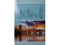Fotoalbum B-46300S Bouquet 1 modré PL