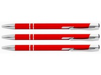 Pero kuličkové Ving slim červené