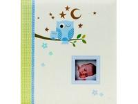 Fotoalbum KD-46200B Owls 1 modré