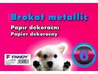 Papier dekoračný Brokat metallic 06