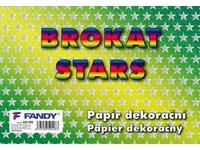 Papier dekoračný Brokat stars