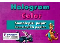 Samolepiace papiere Hologram Color