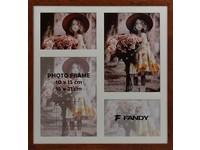 Fotorámeček Style gallery 02 2 hnědý