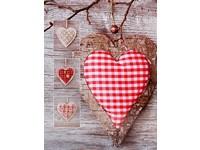 Fotoalbum MM-46200 Trim 1 karované srdce